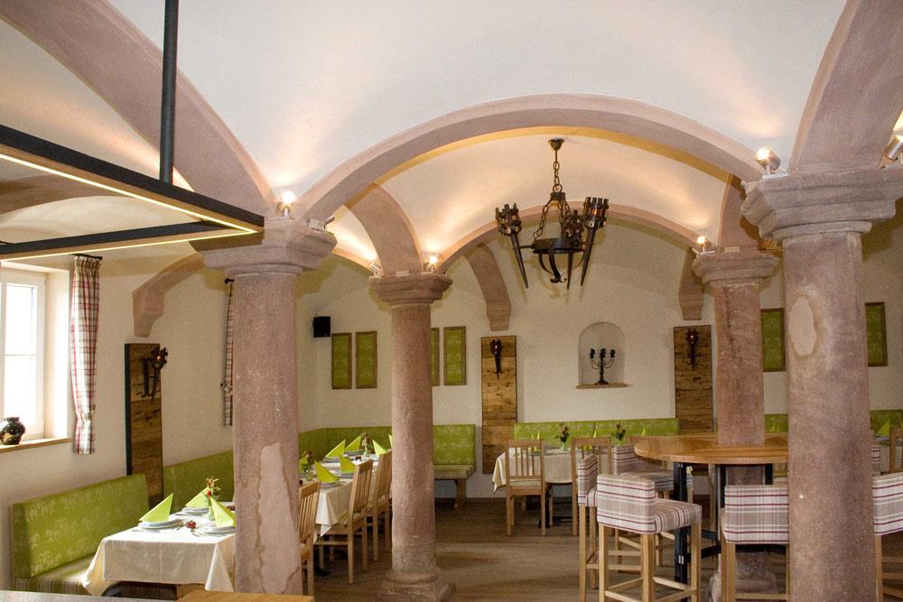 Festsaal in Muhr am Altmühlsee