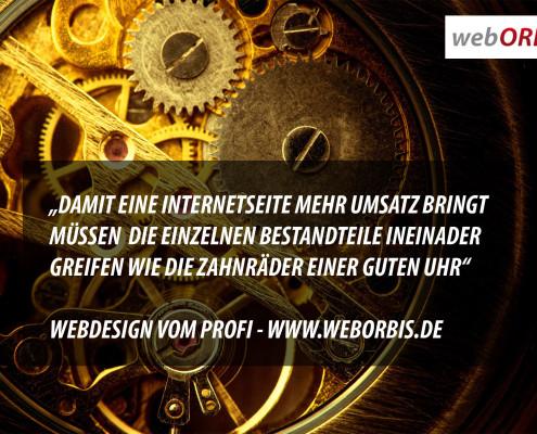 Webdesign & Suchmaschinenoptimierung vom Profi - webORBIS webDESIGN Ansbach