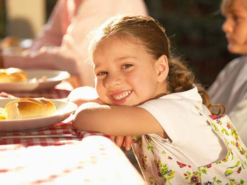 Kinder im Restaurant am Altmühlsee